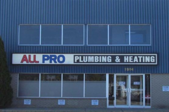 All Pro Plumbing & Heating Inc. store front
