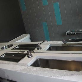 Oak Room Restaurant sinks
